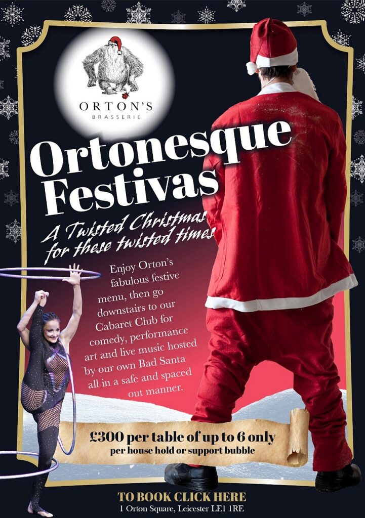Click here to come and join us for Ortonesque Festivas
